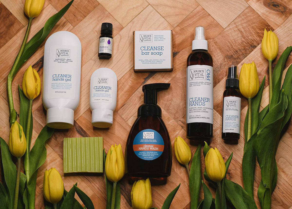 Cleaner Hands Collection for Sanitation and Immunity Boosting