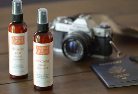 Natural Spray Deodorant by Source Vital Apothecary