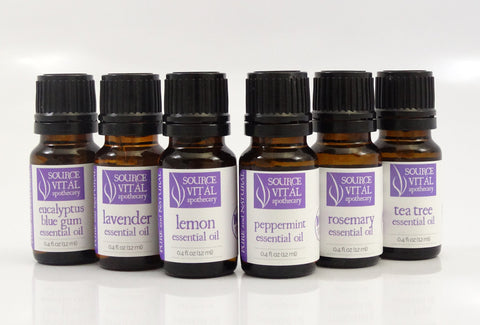 100% Pure Essential Oils by Source Vitál Apothecary