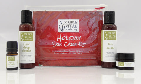 All Natural Holiday Skin Care Gift Set