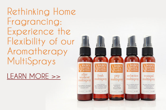 Experience a Different Type of Frangrancing - Try our Aromatherapy Multisprays