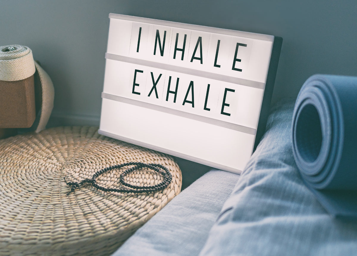 inhale, exhale tips to manage stress