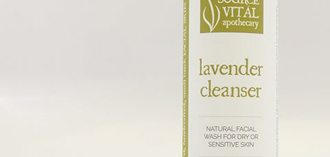 Natural Lavender Facial Cleanser from Source Vital Apothecary