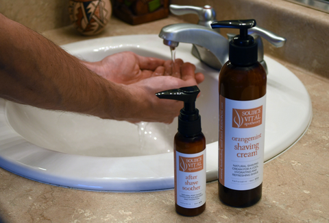 Natural Shaving Products for Men