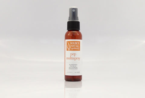 Natural Aromatherapy MultiUse Spray to Uplift & Energize by Source Vital Apothecary