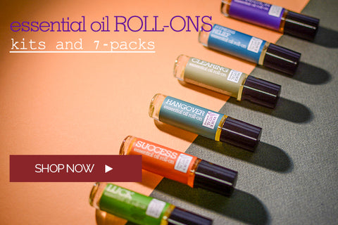Essential Oil Roll-on Kits and 7 Packs