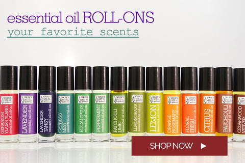 Essential Oil Roll-ons in Your Favorite Scents