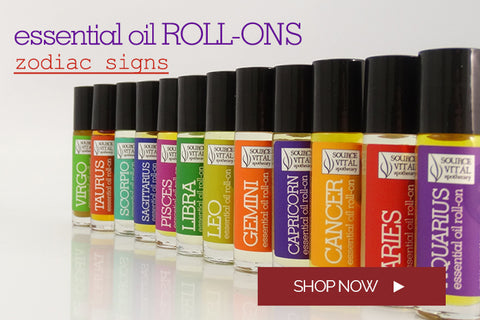 Zodiac & Astrological Sign Essential oil Roll-ons