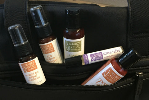 Natural Products to Carry in your Yoga Bag or Gym Bag