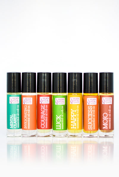 Attack the Day Essential Oil Roll-On 7 Pack