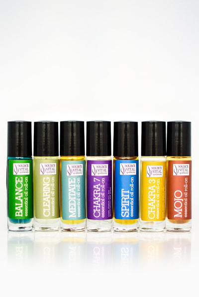 Woo-Woo Essential Oil Roll-On 7 Pack
