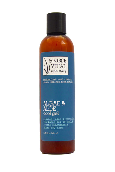 Algae & Aloe Cool Gel for Sunburns & Ultra Dry, Sensitive Skin