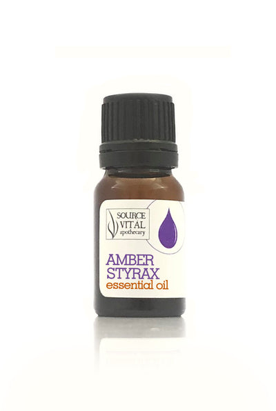 100% Pure Amber Styrax Essential Oil