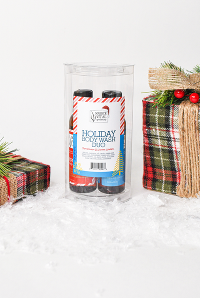 Holiday Body wash duo gift set