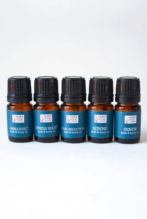 Bath Oil 5 Pack