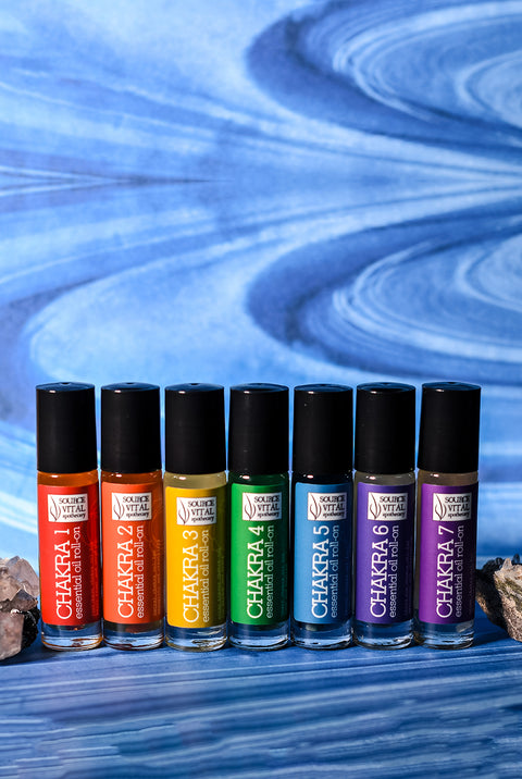 Chakra Oil Roll-on 7 Pack Kit