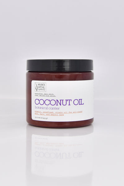 100% Natural Coconut Oil for All-Round Skin, Hair & Beauty Care