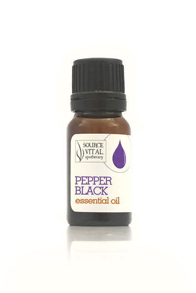 100% Pure Pepper Black Essential Oil from Source Vitál