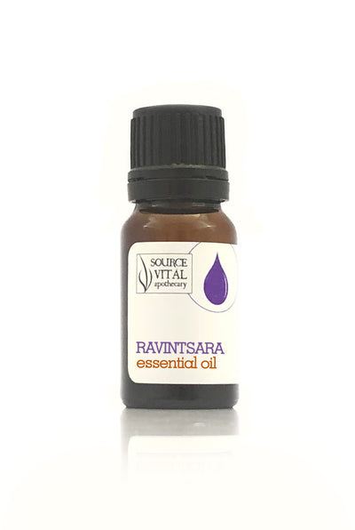 100% pure Ravitsara essential oil by source vital apothecary