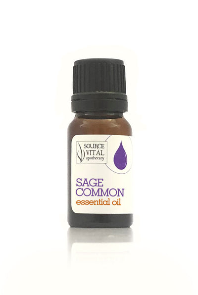 100% Pure Sage Common Essential Oil from Source Vitál