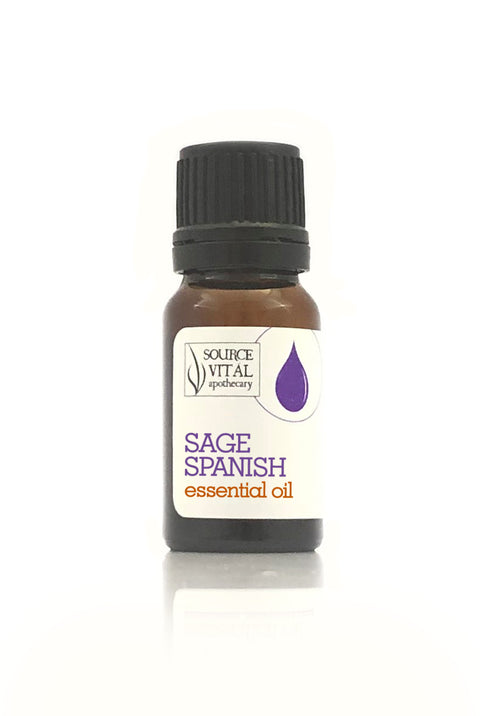 100% Pure Sage Spanish Essential Oil from Source Vitál