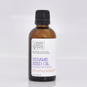 Sesame Seed Oil (Organic, Virgin, Cold Pressed)