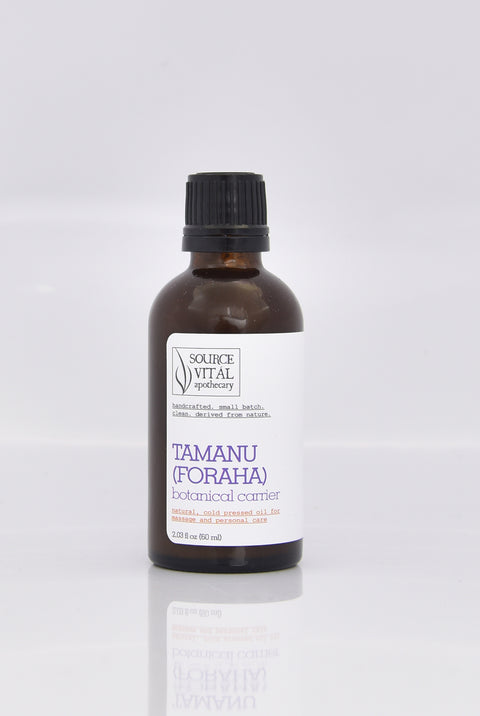 100% Natural Cold Pressed Tamanu/Foraha Botanical Carrier Oil by Source Vital