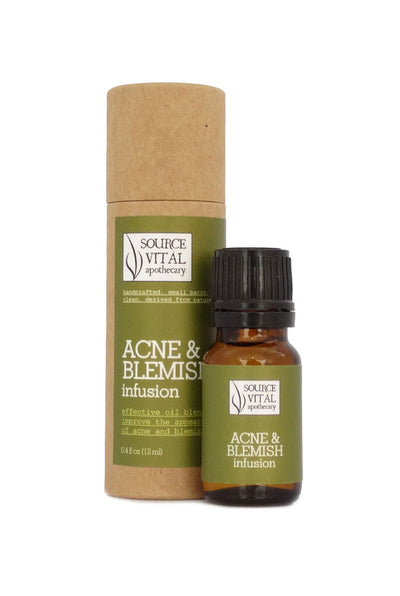 Natural Anti-Acne & Blemish Facial Serum & Spot Treatment