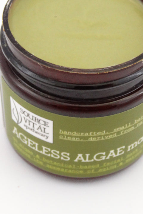 Ageless Algae Mask - A Natural, Clean Mask for Aging, Mature Skin
