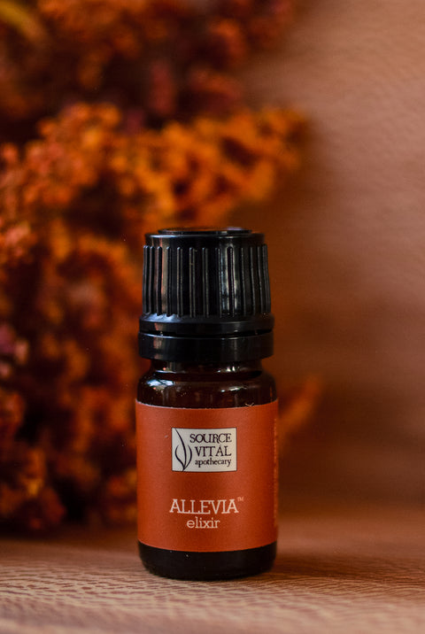 Allevia Natural Elixir - 100% Pure & Natural Oil Blend for Headaches & Indigestion