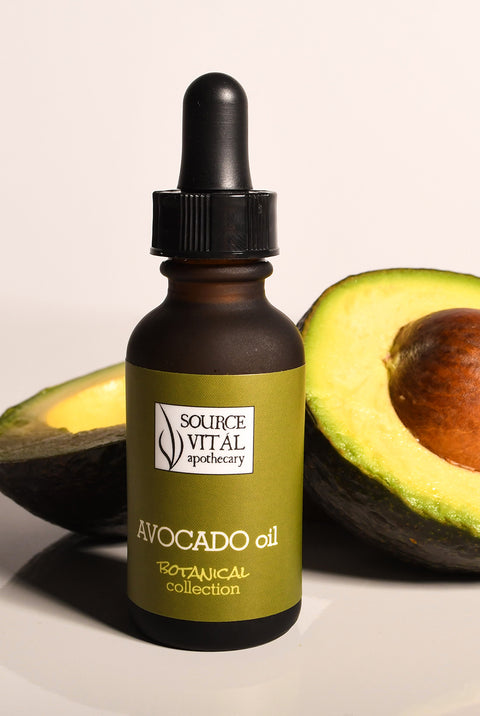 Avocado Oil (Organic, Unrefined, Cold-Pressed): Antioxidant-Rich Hydrating Oil for Dry, Sensitive, and Itchy Skin