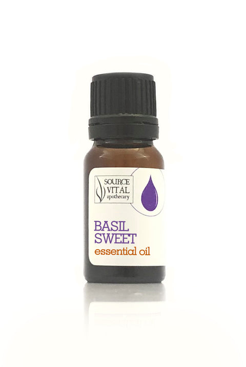 100% Pure Basil Sweet Essential Oil