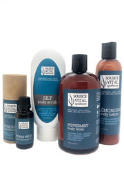 Customize Your Own Bath & Body Kit with a Bath and Body Oil, Lotion, Scrub, and Body Wash