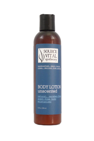 Natural Body Lotion, Unscented, Fragrance-Free