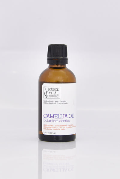 100% Natural, Cold Pressed, Wild Crafted Camellia Oil by Source Vitál Apothecary