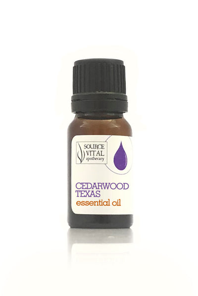 100% Pure Cedarwood Texas Essential Oil