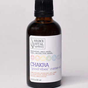 "Chakra ""Good Vibes"" Carrier Oil"