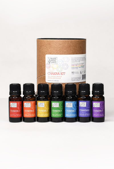 Chakra Oil Kit/Collection - All 7 Chakra Oils
