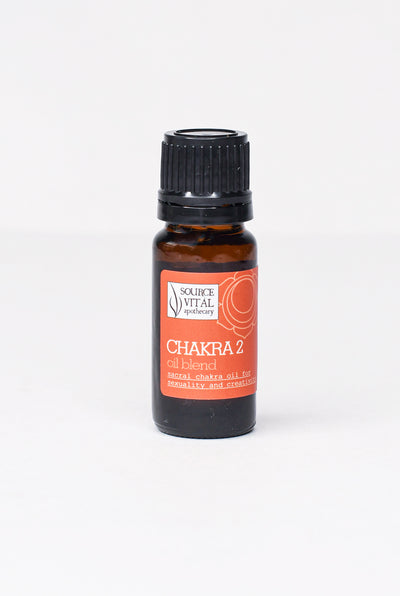 Chakra 2 (Sacral) Essential Oil Blend