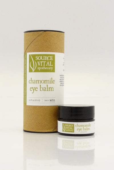 Chamomile Eye Balm, a Natural Eye Cream for Anti-aging and Wrinkles