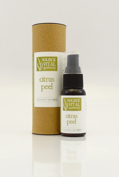 Citrus Peel, a Natural Botanical Facial Exfoliant