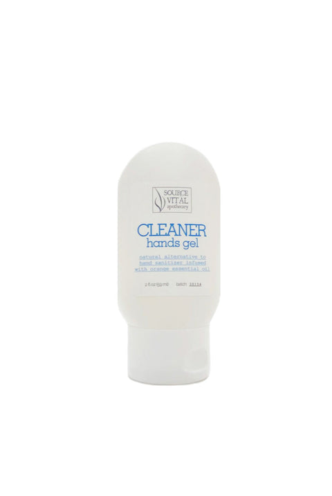 2oz Cleaner Hands Gel, a Natural Alternative to Hand Sanitizer