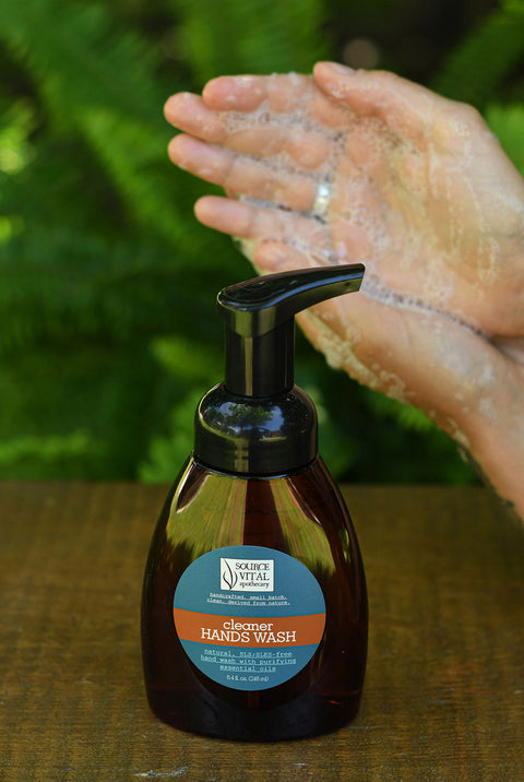 Natural and Organic Hand Wash with Immune Boosting Essential Oils