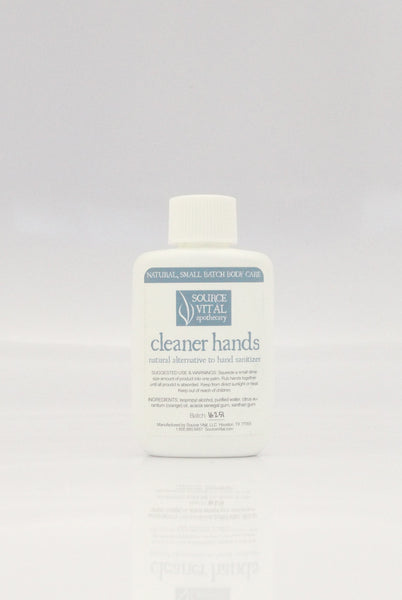100% Natural Alternative to Hand Sanitizer by Source Vital
