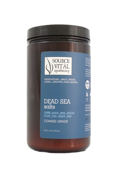 100% Pure Dead Sea Salts, Coarse Grade