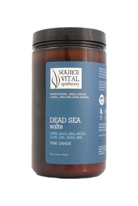 100% Pure Dead Sea Salts, Fine Grade