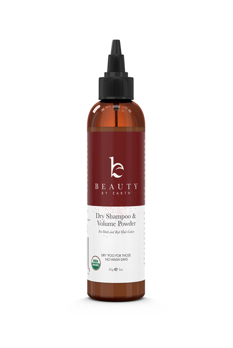 Beauty by Earth Organic Dry Shampoo for Dark/Brown/Black/Red Hair