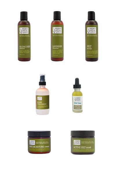 7 Product Collection to Help Improve the Look and Feel of Dry Skin - Natural Dry Skin Kit