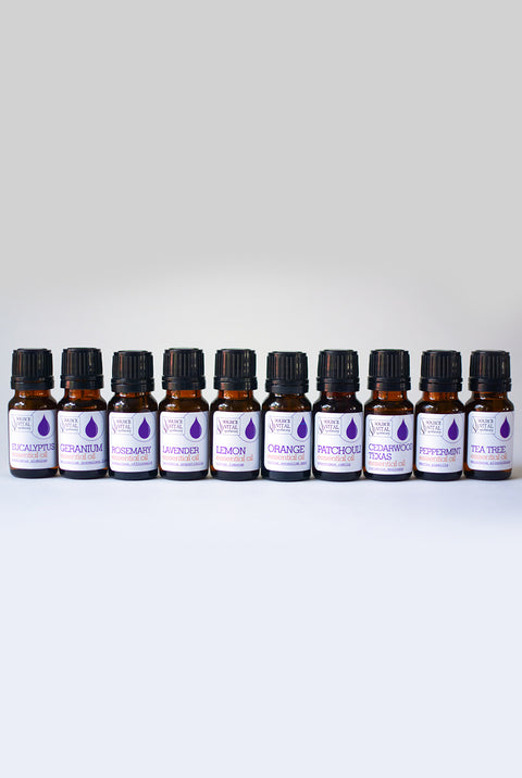 100% Pure Essential Oil Starter 10 Piece Kit