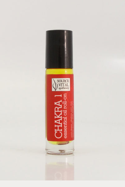 essential Oil Rollerball to Support Chakra 1
